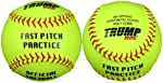 Trump® AK-FPPRAC 12 inch Fast Pitch Practice Softball (Sold in Dozens)