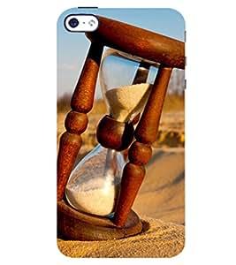 D KAUR Sand Timer Back Case Cover for Apple I Phone 4S::Apple I Phone 4S