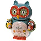 Owl Cookie Jar and Salt and Pepper Shaker Set