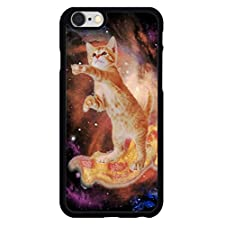Cat Surfing Bacon In Space iPhone 6 Rubber Case