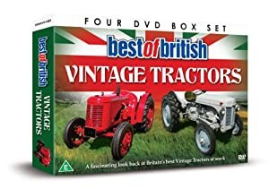 Best Of British Vintage Tractors [DVD]