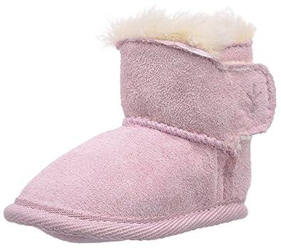 Emu Unisex-Baby Baby Booties B10310 Pink 12-18 Months, 17 EU, Regular