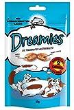 Dreamies Katzensnack Lachs 6er Pack (6 x 60g)
