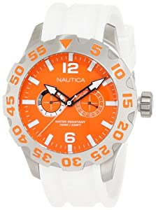 Nautica Men's N16618G Bfd 100 Multi Watch