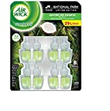 Air Wick Scented Oil Air Freshener, National Park Collection, 8 Refills, 0.84 fl oz Each (American Samoa)
