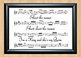 Kasabian 'Shoot The Runner' Song Sheet Lyrical Art Print A4 Size
