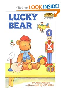 Lucky Bear (Step into Reading) by Joan Phillips