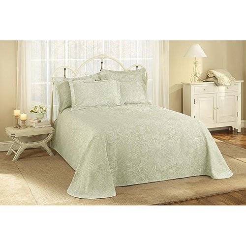 Buy Bargain Stylemaster Provence King Matelasse Bedspread Powder, Blue