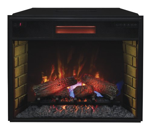 Classic Flame 28Ii300Gra Infrared Spectrafire Plus Insert With Safer Plug, 28-Inch