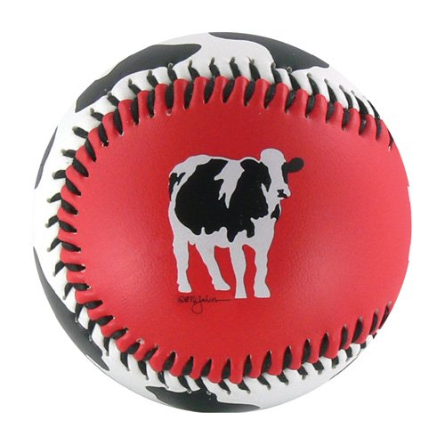 Cow Spots w/ Cow T-Ball (Rubber Core)