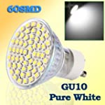 GU10 60 SMD 3528 LED Pure White spot...