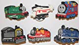 Thomas the Tank Engine mix Shoe Charms Set of 6 - suitable for Crocs Jibbitz * 62 *