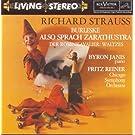Strauss: Burleske; Also sprach Zarathustra; Der Rosenkavalier: Waltzes