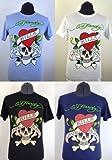 Orignal Ed Hardy Love Kills Slowly Motif Printed T-Shirts