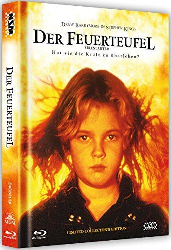 Der Feuerteufel - uncut (Blu-Ray+DVD) auf 666 limitiertes Mediabook Cover A