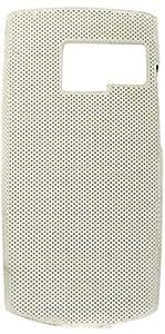 Purple Eyes Dot Hard back Case Cover For Nokia X2-01 (White)