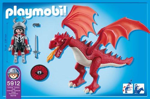 Imagen de Playmobil Dragón Rojo