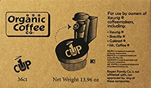 San Francisco Bay Coffee, Fog Chaser, 36 OneCup Single Serve Cups