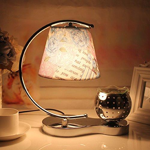 moderno-y-minimalista-florales-azules-lamparas-de-cama-dormitorio-estudio-decorado-calidamente-aroma