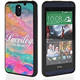 EVERGREENBUYING Cute Pattern Style Flexible TPU Silikon Tasche Schutzh�lle Etui H�lle Schale Shell Case Cover F�r HTC Desire 610