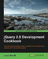 JQuery 2.0 Development Cookbook Front Cover