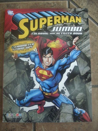 Superman Jumbo Coloring and Activity Book - 1
