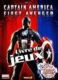 echange, troc Marvel - Captain America First Avenger : Livre de jeux