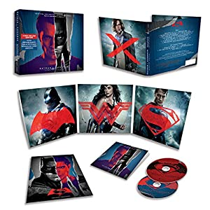 Batman v Superman: Dawn Of Justice- Original Motion Picture Soundtrack [2 CD][Deluxe Edition] at Gotham City Store