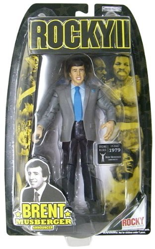 Picture of Jakks Pacific Rocky II: The Authentic Collection Action Figure Brent Musberger (B0013RMYOE) (Jakks Pacific Action Figures)