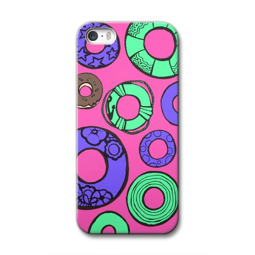33design×collaborn iPhone5/5s専用スマートフォンケース UKIWA Pink BR-I5S-044