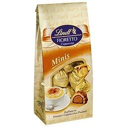 2x Lindt Fioretto Minis, Cappuccino 115g (German Import)