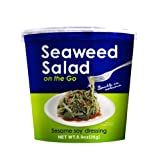 Japanese Delight Seaweed Salad on the Go, 0.9-Ounce (Pack of 6) by Japanese Delight