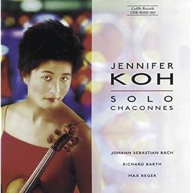 Violin Partita No. 2 in D Minor, BWV 1004: II. Sarabanda