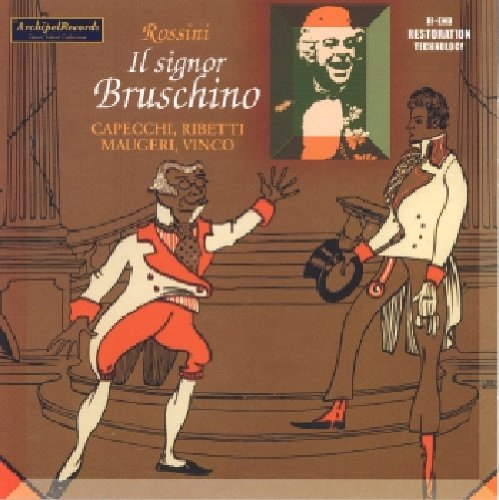 Signor Bruschino - Rossini - CD