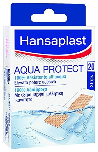 Hansaplast 20 Cerotti Aqua Protect 2 Formati Assort