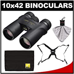 Nikon Monarch 7 10x42 ED ATB Waterproof Fogproof Binoculars with Case + Easy Carry... by Nikon