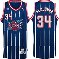 Houston Rockets #34 Hakeem Olajuwon NBA Soul Swingman Jersey, Navy by adidas