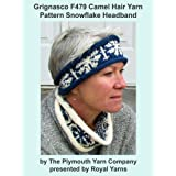 Grignasco F479 Camel Hair Yarn Pattern Snowflake Headband (I Want To Knit)