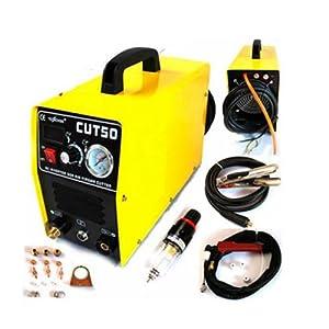 Inverter Air Plasma Cutter Welder & Digital Display&pressure Gauge Brand by Idd