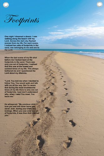 Footprints Quotes Beach God. QuotesGram