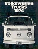 1974 Volkswagen Van Combi Sales Brochure