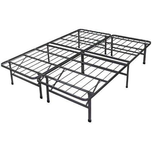 Cheapest Prices! Best Price Mattress New Innovated Box Spring Platform Metal Bed Frame/Foundation, T...