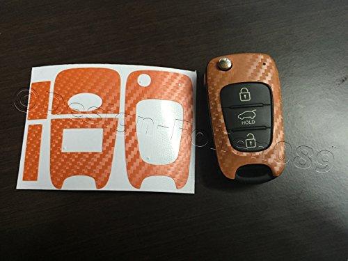 pantalla-de-carbono-decoracion-naranja-hyundai-i10-i20-i30-ix35-ix20-elantra-y-muchos-mas