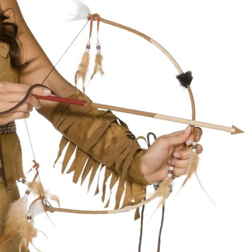 Smiffy's Indian Bow & Arrow Set