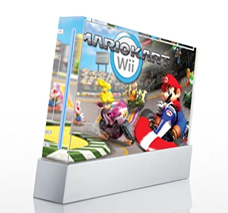 Mario Kart Game Skin for Nintendo Wii Console