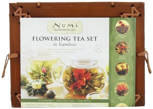 Numi Organic Tea Flowering Gift Set in Handcrafted