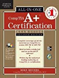 img - for CompTIA A+ Certification All-in-One Exam Guide, Seventh Edition (Exams 220-701 & 220-702) (Edition 7) by Meyers, Michael [Hardcover(2010  ] book / textbook / text book
