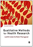 Product 1847870740 - Product title Qualitative Methods for Health Research (Introducing Qualitative Methods series)