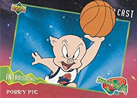Space Jam - Trading Cards - Single Cards - NON-SPORTS 1996 Upper Deck Space Jam Single Trading Card #04 Porky Pig
