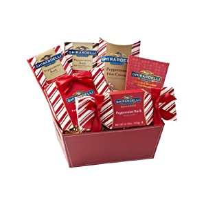 Ghirardelli Peppermint Basket